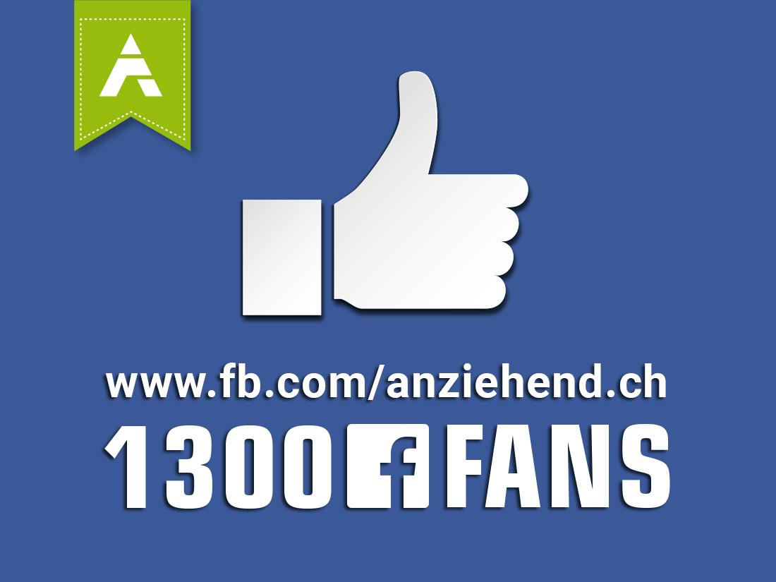 1300 Facebook Fans