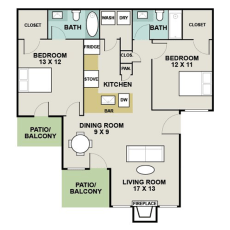 1-signature-point-dr--floor-plan-1050-sqft