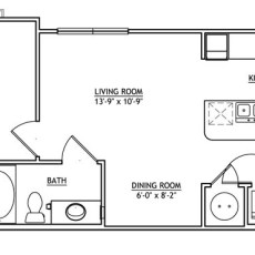 Barker Cypress leasing floor plans - print 13-0509