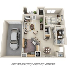 13313-cutten-rd-floor-plan-a1-with-garage-890-sqft