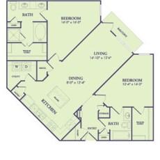25222-northwest-fwy-floor-plan-1266-sqft