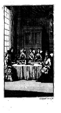 Frontispiece from Mary Davys's The Northern Heiress [1716]Eighteenth-Century Collections Online