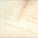 Anna Maria Bennett letter (1785) by Michael L. Taylor LSU Library