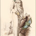 Promenade Dress (1812) Ackermann's Repository of Arts By Rudolph Ackermann Candicehern.com
