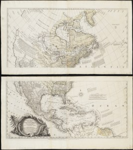 A General Map of North America (1762) John Rocque (c. 1709-1762) The Norman B. Leventhal Map Center