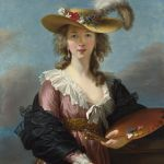 Self-portrait in a Straw Hat (after 1782) Élisabeth Louise Vigée-LeBrun (1755-1842) Wikimedia Commons