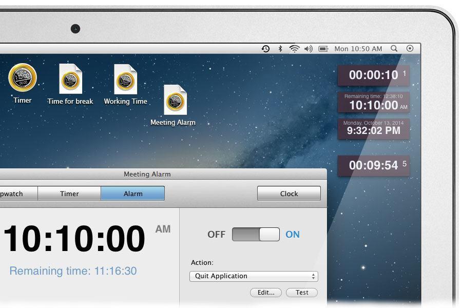 Timer for Mac - Screenshot