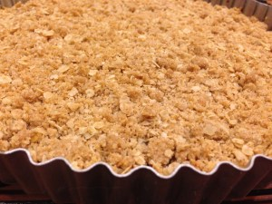 Apple Crumble Tart/ Apinchofluv.com