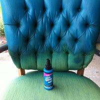 Pinterest Addict - Tulip Fabric Spray Paint Chair