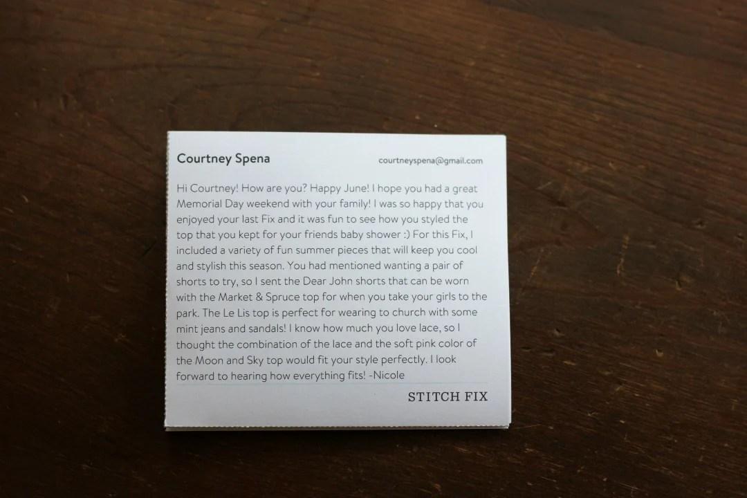 Stitch Fix Review #13