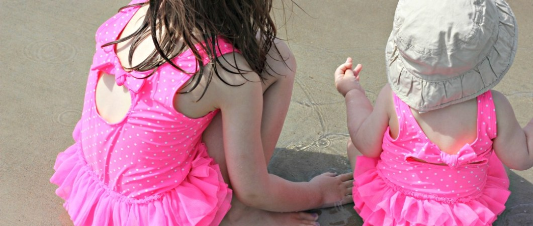 Twinning At The Splash Pad