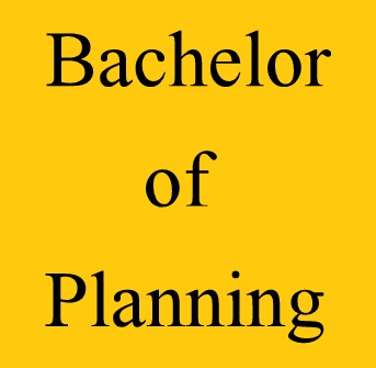 Bachelor of Planning