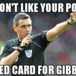 Andre Marriner and Kieran Gibbs Memes