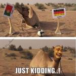 Germany vs Portugal: Camel's wrong prediction results in funny memes