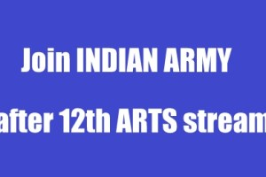 Join Indian Army after 12th Arts stream