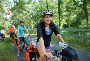 Apogee Adventures teen summer bike trip in Cape Cod