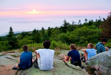 Apogee Adventures teen hiking trip Acadia National Park, Maine