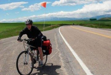 Apogee Adventures teen bike trip in Montana