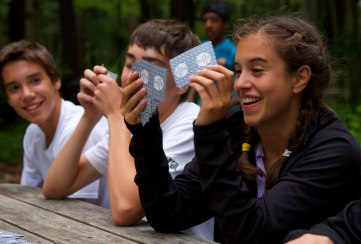 Apogee Adventures teen bike trip in Vermont - Playing Cards
