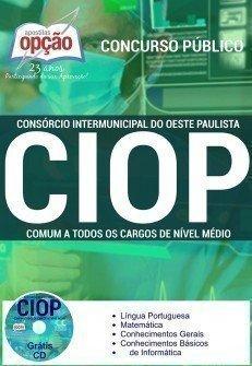 Apostila Concurso CIOP Oeste Paulista 2016