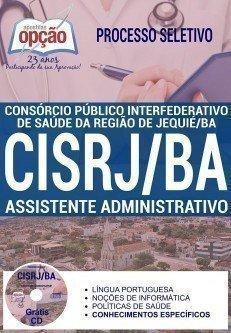 Processo Seletivo CISRJ Jequié BA 2017 Apostila Edital Inscricao