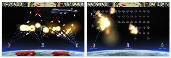 Nur heute kostenloser Weltraumkrieg für iPhone und iPod Touch mit Earth vs. Moon
