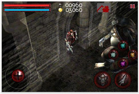 Screenshot iPhone App Deadly Dungeon