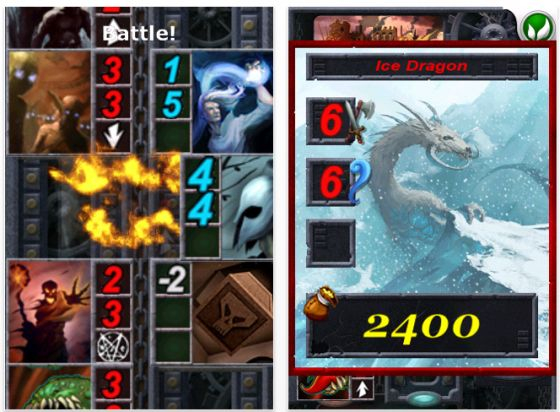 Screenshot Dungeon Solitaire