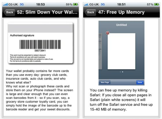 Screenshot App Secrets for iPhone