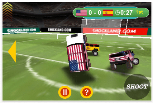 World Hummer Football Screenshot