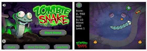 Screenshot Zombie Snake