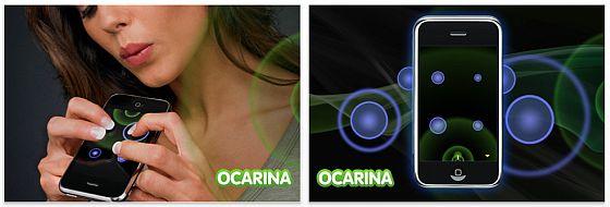 Ocarina für iPhone und iPod Touch Screenshot