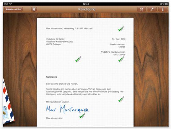 Aboalarm Universal-App für iPhone, iPod Touch und iPad Screenshot