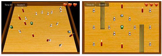Angry Pins Screenshot App für iPhone, iPad und iPod Touch