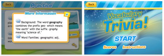 Vocabulary Central Screenshot