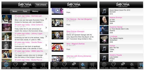 Eurovision Song Contest 2011 in Düsseldorf - Alle Infos zum Wettbewerb in der offiziellen App