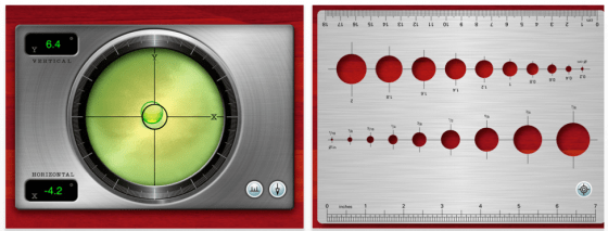 Gyroscope Toolbox HD für iPad 2 Screenshot