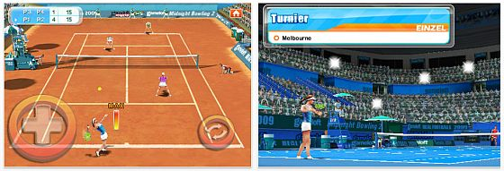 Real Tennis von Gameloft - Screenshots