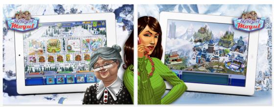 Ski Imperium für iPhone und als HD-Version für das iPad - Screenshots