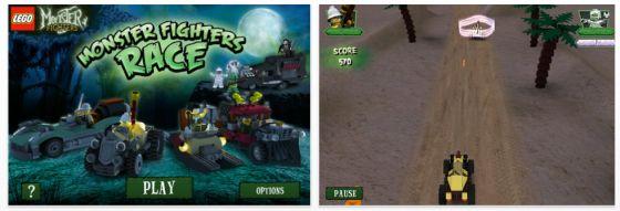 Neues, kostenloses Lego-Rennspiel für iPhone, iPod Touch und iPad erschienen – jage Lord Vampyre