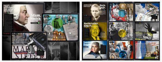 Biographien multimedial für das iPad aufbereitet – heute statt 3,99 Euro kostenlos laden
