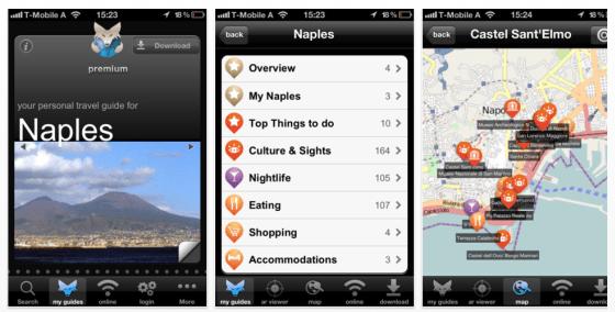 Tripwolf Reiseführer und Städteführer für das iPhone