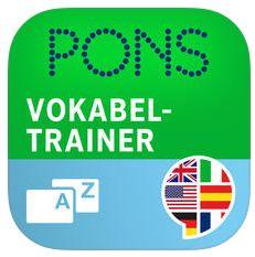 Kostenloser Vokabeltrainer für iPhone und iPod Touch von Pons