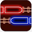 Eisenbahnspiel im Neon-Stil für iPhone, iPod Touch und iPad heute kostenlos