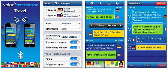 Travel Voice Translator für iPhone und iPad