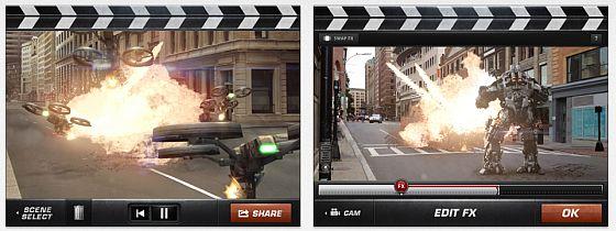 Action Moviie FX Screenshots iPad