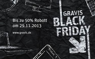 Apple-Händler Gravis mit zahlreichen Top-Angeboten zum heutigen Black Friday