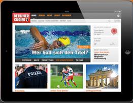 Berliner Kurier auf dem iPad