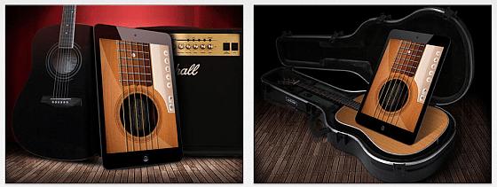 Echte Gitarre Screens