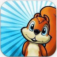 Nuts – niedliches Eichhörnchen-Endloslaufspiel für iPhone und iPad gerade gratis
